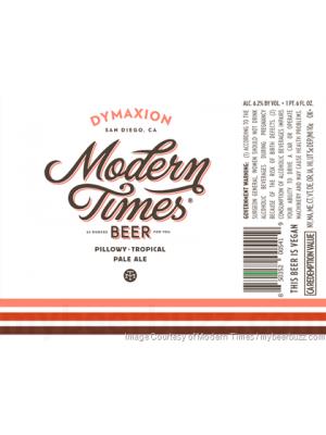 Modern Times Beer Dymaxion Pale Ale 22oz